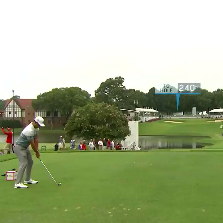 Watch Xander Schauffele make a hole-in-one Sunday to tie for the Tour Championship lead