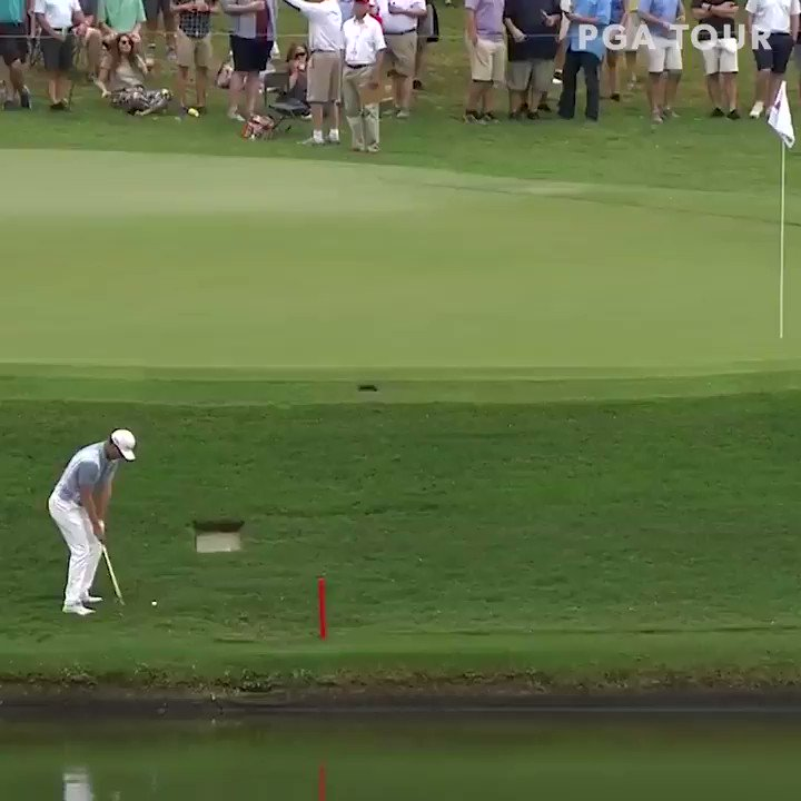 Watch Justin Rose chunk three consecutive chips to make a quadruple bogey at the Tour Championship