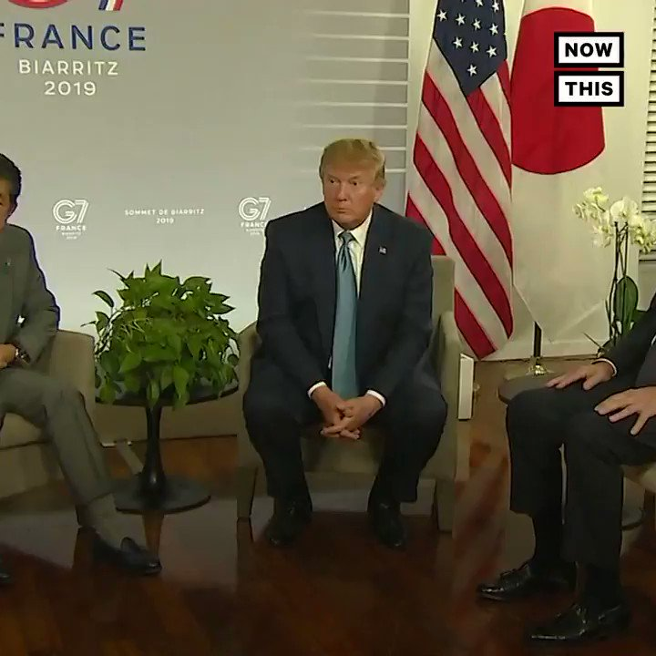 This video of Trump moping around the G7 like Santa didn't get him what he wanted for Christmas, is so sad and pathetic that it's hilarious. But don't retweet this, because it would drive Trump crazier. Would be a real shame if it went viral.