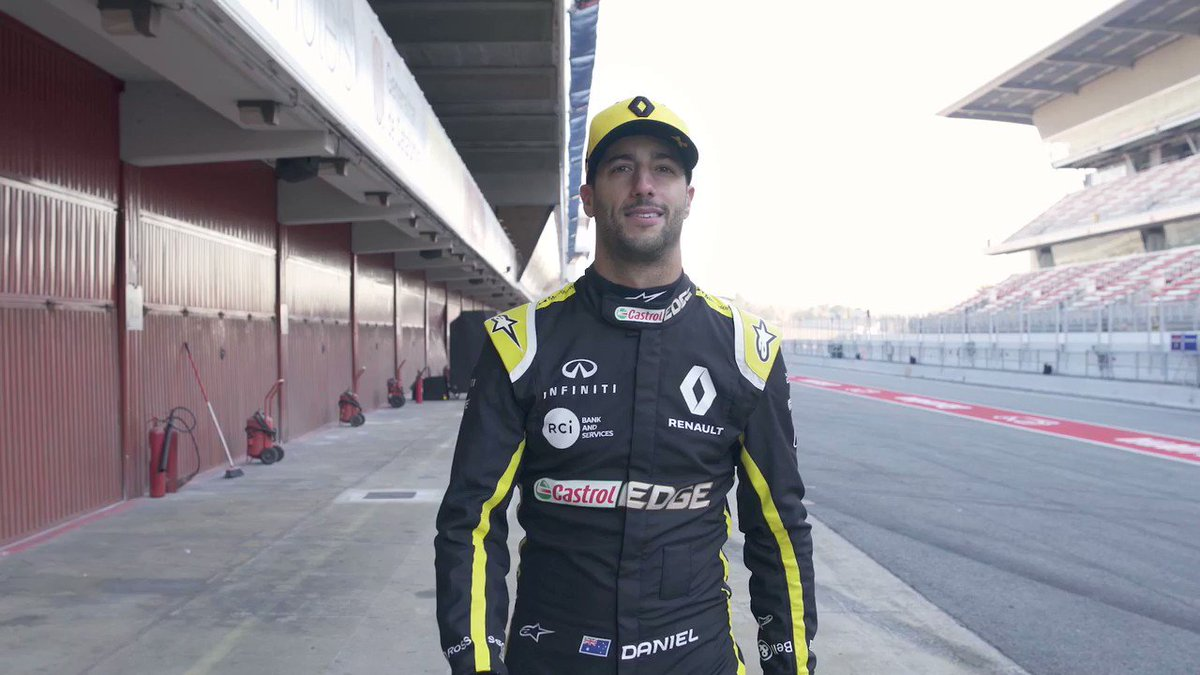 Unpredictable? Yes. A test drive you will never forget? Also yes. No one does it better - @danielricciardo.   Watch the full video on https://www.youtube.com/watch?v=JFXRRbEwA-E&feature=youtu.be …