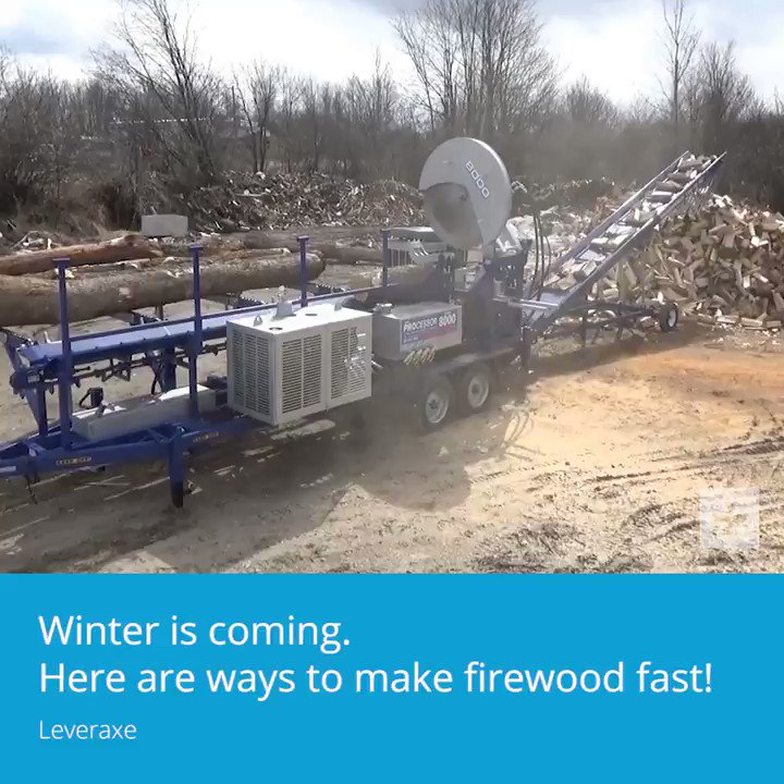 Winter is coming. Heres ways to split wood fast.