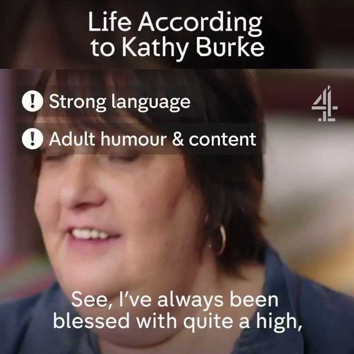 RT @Channel4: We could just sit and listen to @KathyBurke talk all day. #KathyBurke https://t.co/Qal5s91p5W