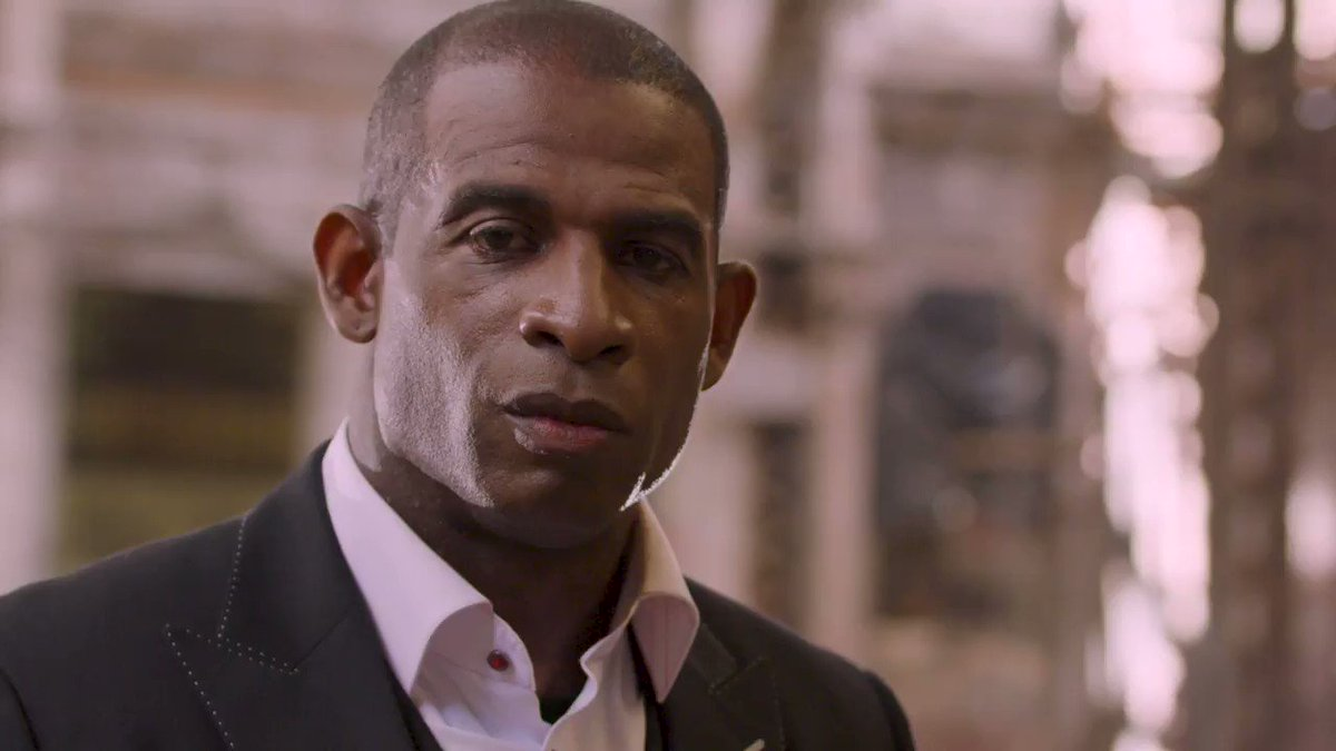 'That red and black is real to me. It's home.' On his birthday, we hear what ATL means to @DeionSanders.