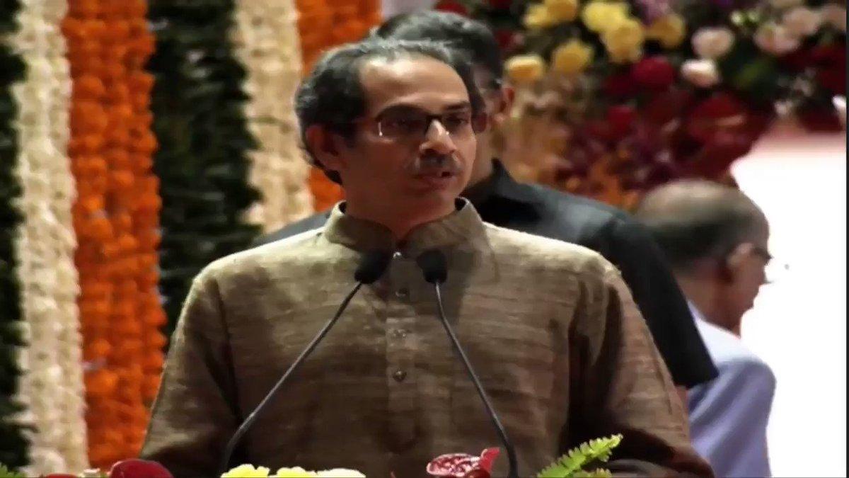 शिवसेना पक्षप्रमुख मा. श्री. उद्धव साहेब ठाकरे यांनी पंतप्रधान श्री. नरेंद्र मोदी जी यांच्या हस्ते करण्यात आलेल्या मेट्रो प्रकल्पांच्या भूमिपूजन कार्यक्रमात मार्गदर्शन केले.