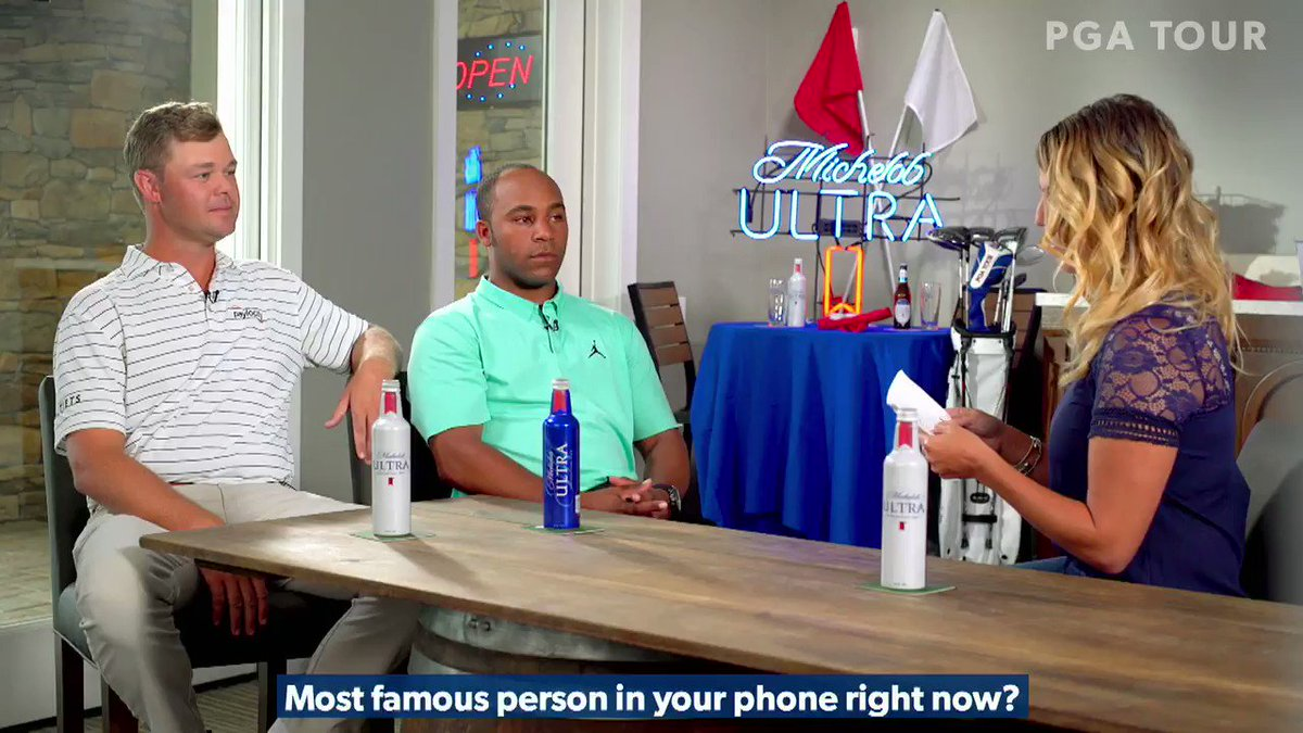 Coming in hot at the #ULTRAClubhouse this week, @pkizzire and @HV3_Golf talk cellphone celebrities, childhood heroes, and their emoji personalities. Tune in later today!