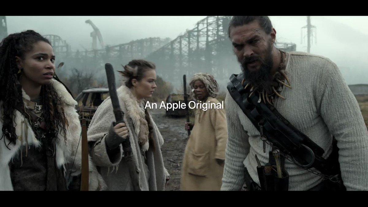 First trailer of Jason Momoa's, 'See.' #AppleEvent  http://bit.ly/31aaukI(Via @Apple)