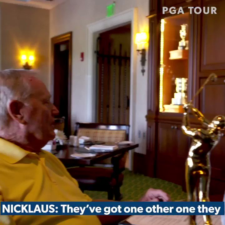 Watch Rory McIlroy's stunned reaction to being told he won PGA Tour Player of the Year by Jack Nicklaus