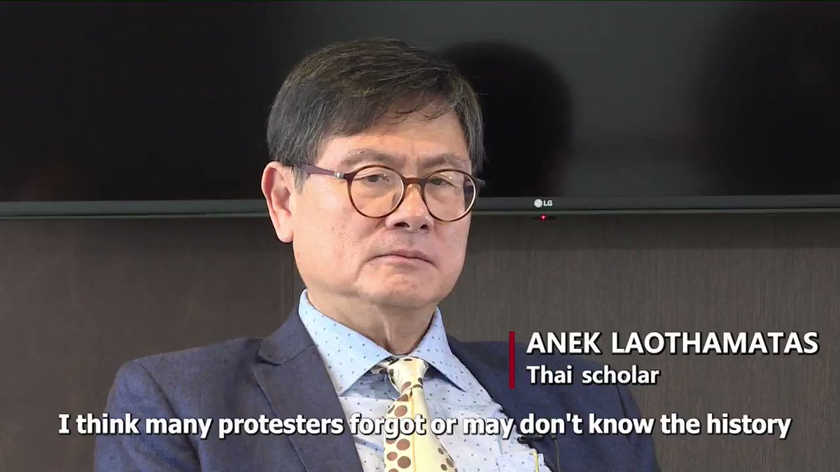 Some Hong Kong young people should learn more about the region's history to get rid of illusions about the West, says Thai scholar Anek Laothamatas