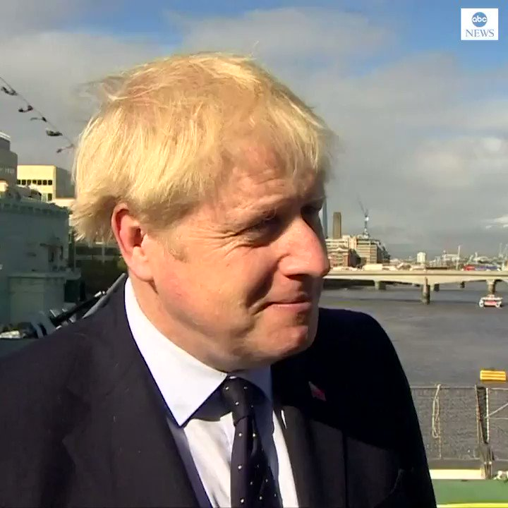 """Absolutely not"": U.K. Prime Minister Boris Johnson denies lying to Queen Elizabeth II in order to suspend Parliament. https://abcn.ws/34F2XN5"