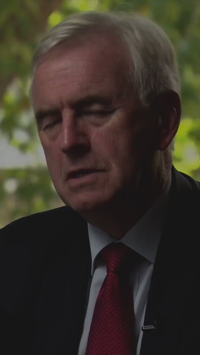 "ICYMI: ""We've come to a conclusion around Brexit which I think is fairly straightforward... we need another referendum. And in that referendum there needs to be what we'll describe as a credible leave option as well as remain."" - Shadow Chancellor @johnmcdonnellMP  #Newsnight"