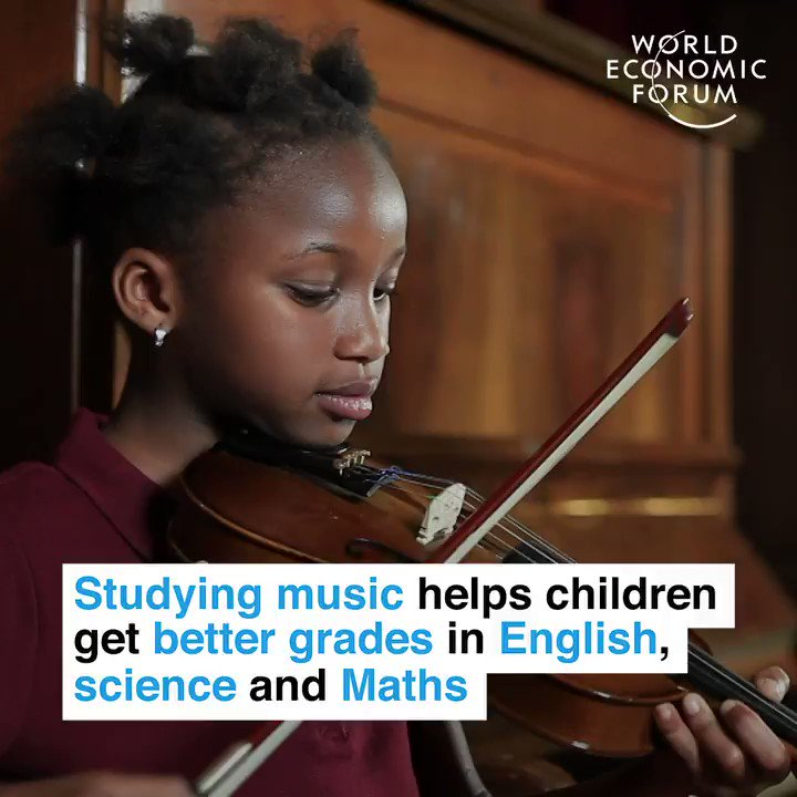 Turning an A♯ into an A+. 📕 Read more: wef.ch/2IHDWaW #music #education
