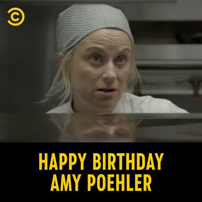 Happy birthday to the queen of comedy, Amy Poehler
