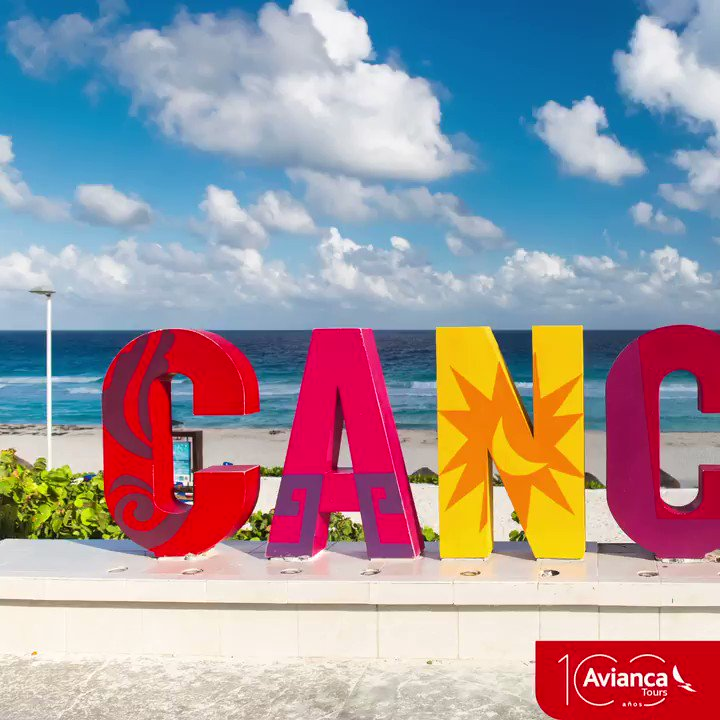 Image for the Tweet beginning: Cancún con sus hermosas playas