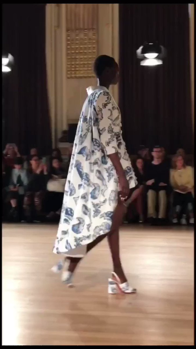 See every look from Halpern's SS20 #LFW show: vogue.uk/ZZii3B