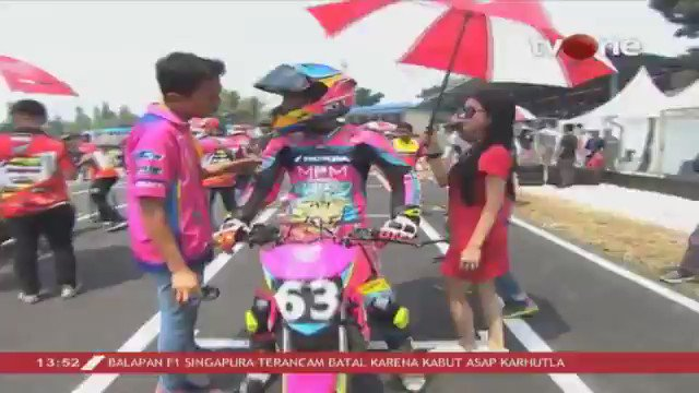 Perubahan posisi starting grid Rookie di race 2. Saksikan video race Oneprix putaran ketiga hanya di youtube channel One Prix Motorsport #tvONeNews #Oneprix