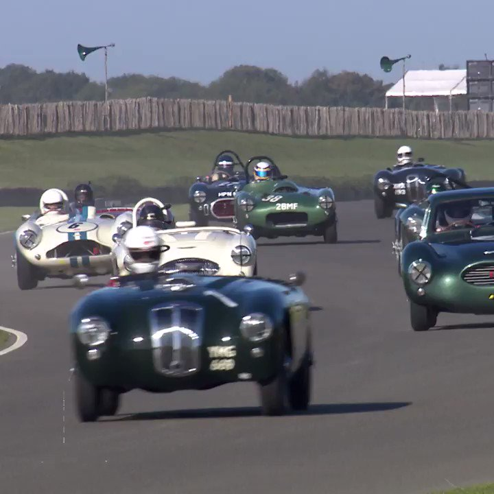 Will the Jaguars overcome the Italian machines? #GoodwoodRevival https://t.co/MLhS0SFzKM