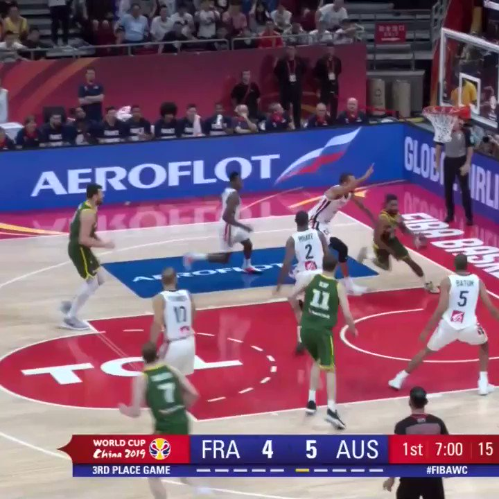 🇦🇺 Joeingles7' scored a team-high 17 PTS and Patty_Mills' added 15 PTS to close out BasketballAus's FIBAWC!   #AustraliaGotGame #FIBAWC  #NBA