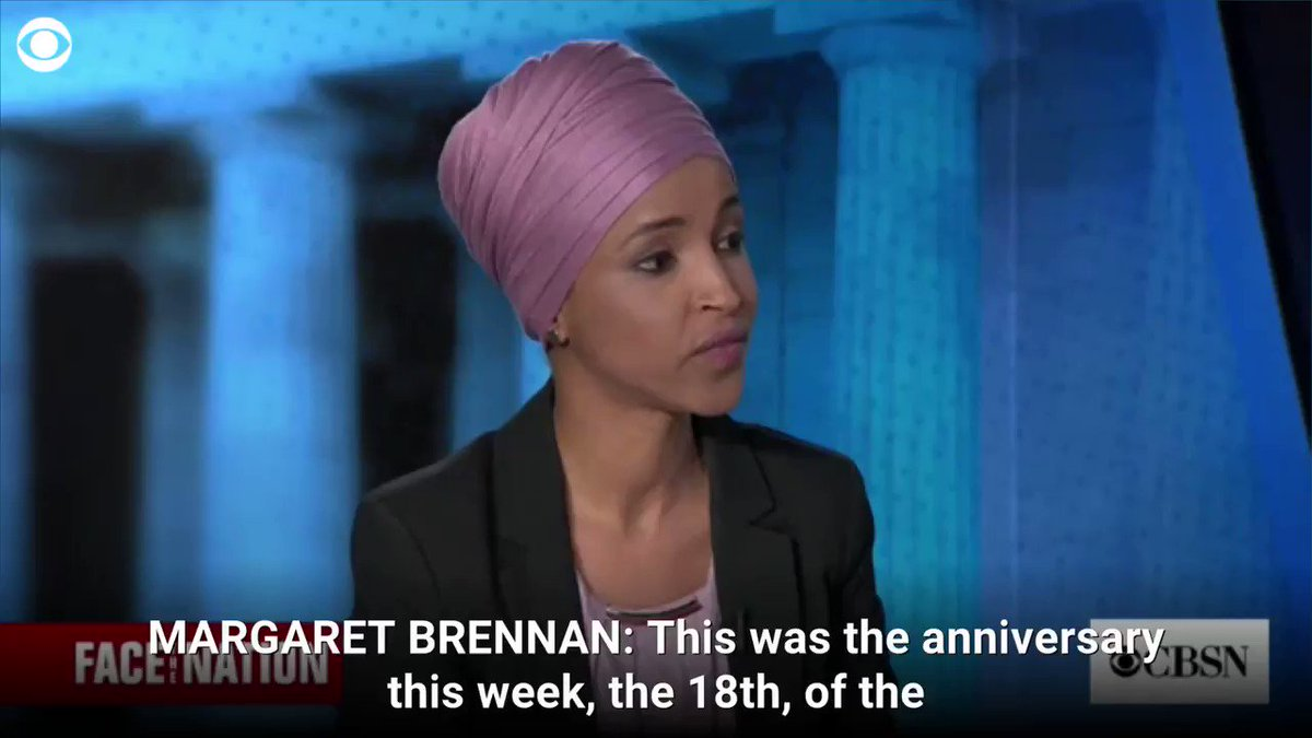 Ilhan Omar Responds To 9/11 Mourner Who Criticized Her At Memorial Event