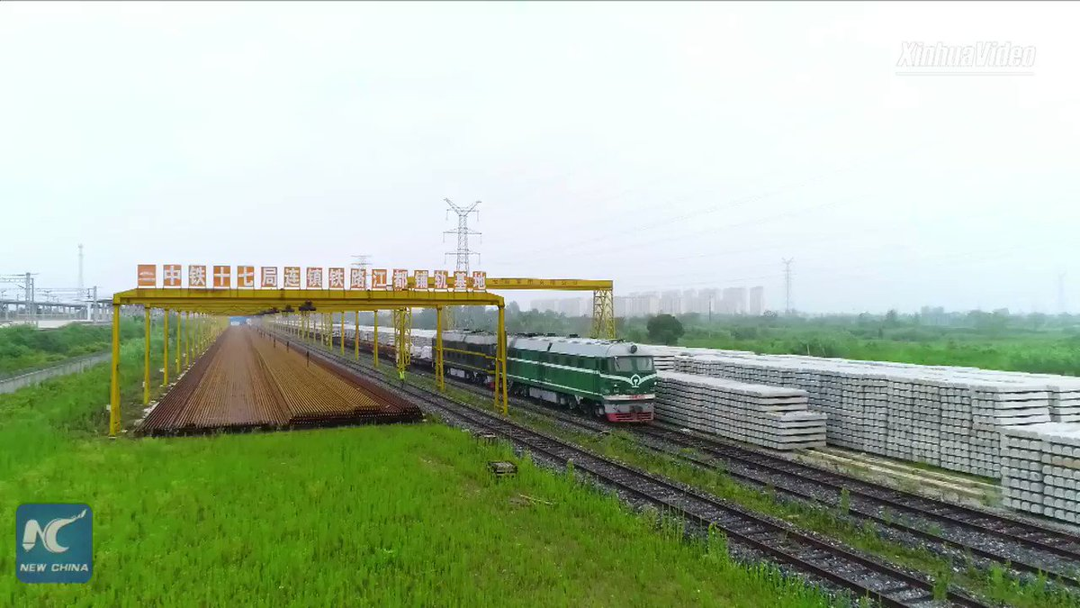 How can a coin stand on a speeding train of China's high-speed railway without falling? Find out the secret behind the building of high-speed rail
