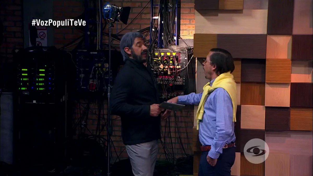 #VozPopuliTeVe | El aspirante tuvo que llevar al director del Dañe para comprobar que está de primero en los sondeos. Pero, ¿son esos resultados confiables?