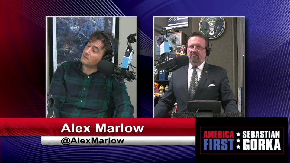 Never thought Mr. Breitbart would be so protective of his little Dems. @BreitbartNews @AlexMarlow on @TheDemocrats clown car #AMERICAFirst @SalemMediaGrp sebgorka.com/video/theyre-a…