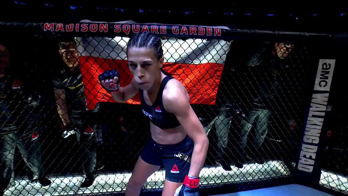 🌴 Fight week is coming up in the Sunshine State!  🇵🇱 @JoannaMMA vs 🇺🇸 @KarateHottieMMA 🐻 @CubSwanson vs 🇧🇷 Kron Gracie  #UFCTampa on-sale now ➡️ http://bit.ly/2ZF4rHh