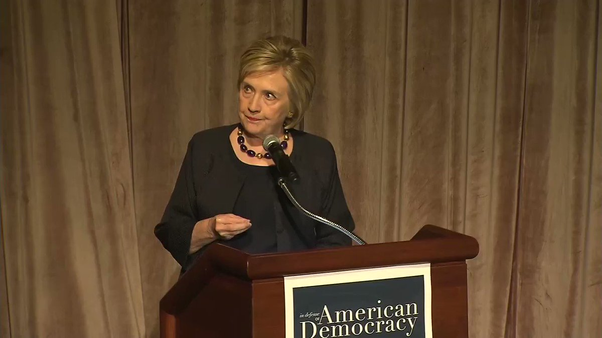 Hillary Clinton: You can run the best campaign. You can have the best plans. You can get the nomination. You can win the popular vote. And you can lose the Electoral College and therefore the election for these 4 reasons -- Number One, voter suppression.  http://hill.cm/SRcqf0f