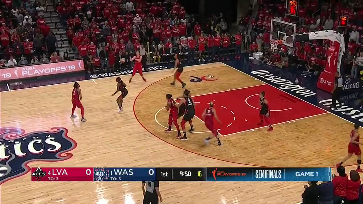 ICYMI: @De11eDonne (24 PTS, 6 REB, 6 AST) was crucial down the stretch in the @WashMystics Game 1 win! #WNBAPlayoffs   Check her top highlights 🎥⬇️
