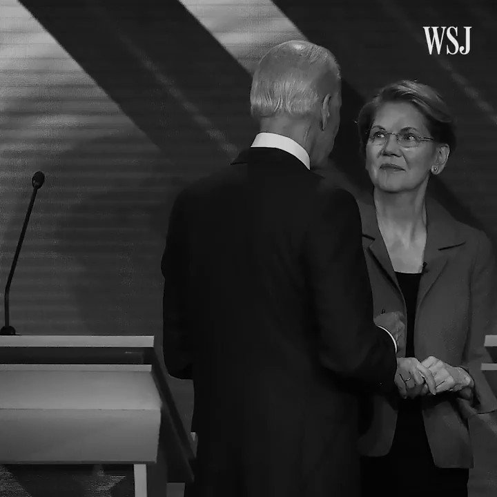 Joe Biden and Elizabeth Warren are beginning to separate themselves from the pack of Democrats vying for the presidency, according to a new WSJ/NBC poll #WSJWhatsNow