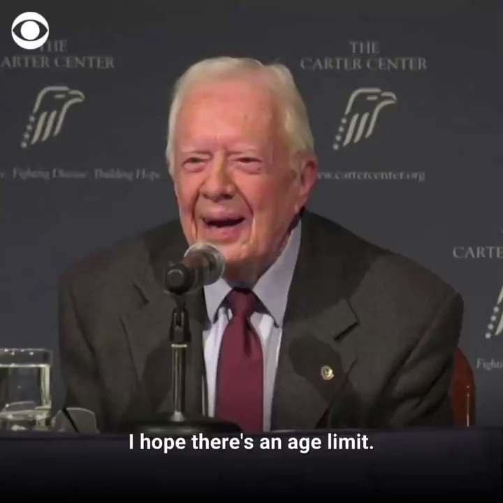Jimmy Carter Hopes There Is 'An Age Limit' On The Presidency