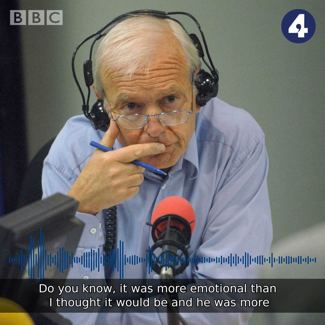 """""""It was more emotional than I thought it would be"""" Fellow presenter @JustinOnWebb on saying goodbye to John Humphrys  #r4today https://bbc.in/30wUGrb"""