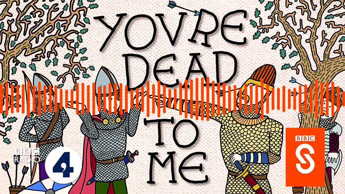 If history was never your favourite subject at school then there's a new #podcast @BBCSounds just for you. #YourDeadToMe sees @Greg_Jenner, famous for his work on Horrible Histories @hhtv_ bringing together the best names in #History and #Comedy to learn and laugh about the past!
