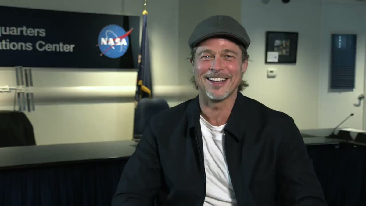 3...2...1...action! 🎬 Actor Brad Pitt, who plays an astronaut in #AdAstra, is helping us kick off a new video series where our experts answer your questions. Subscribe to our @YouTube channel so you wont miss our full #AskNASA episode w/ Brad tomorrow: youtube.com/nasa