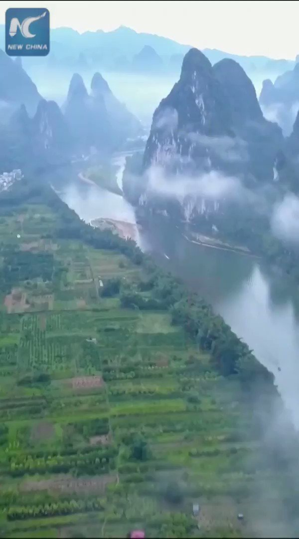 """The """"peerless beauty"""" of Guilin, south China"""
