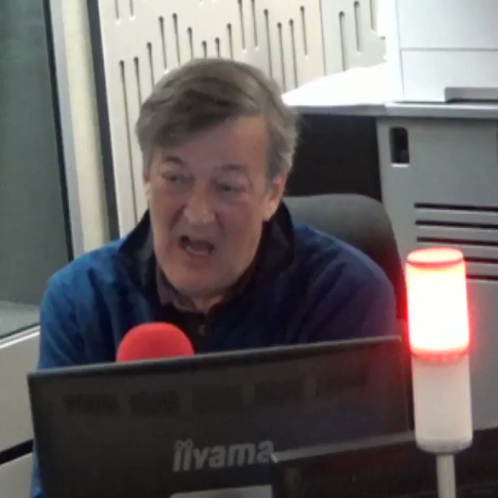 """""""It was really cricket that turned it for me.""""Here's why @stephenfry now loves sport despite being terrible at it #r4today"""