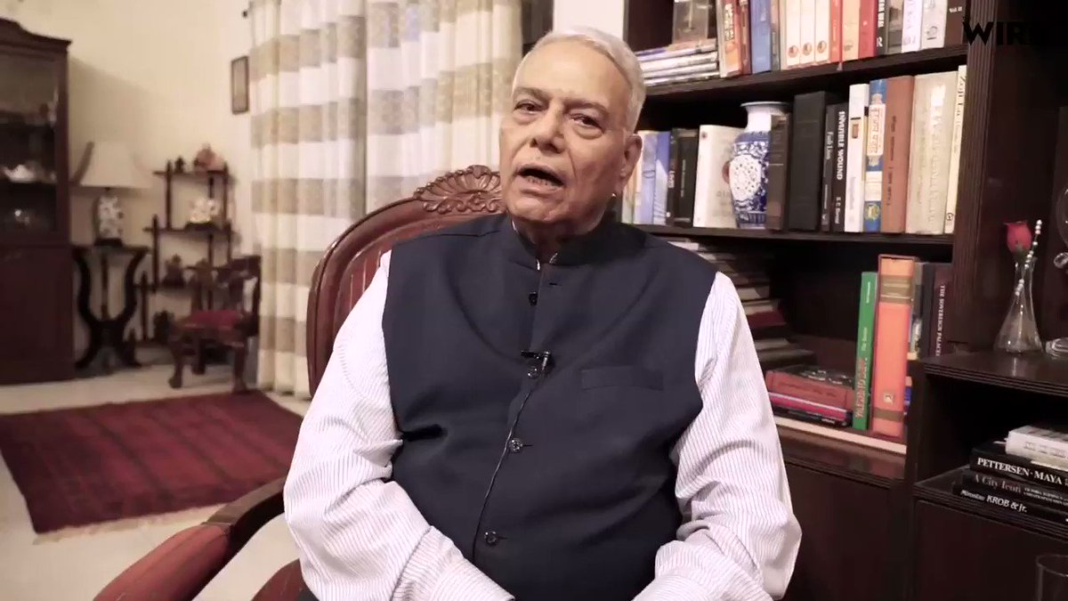 """""""They have put the stock market on fire today, but it will take a few years before the impact of this is felt in the economy."""" Former Finance Minister @YashwantSinha suggests that the govt could have spent the 1.45 lakh crore revenue loss  on infrastructure instead."""