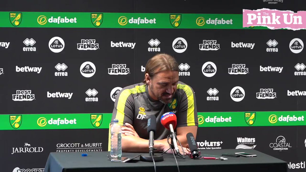 """🇦🇷 """"...it's a good experience for Messi to play next to Emi Buendia perhaps...""""Daniel Farke on Emi Buendia pushing for an Argentina call-up.🔰#ncfc"""