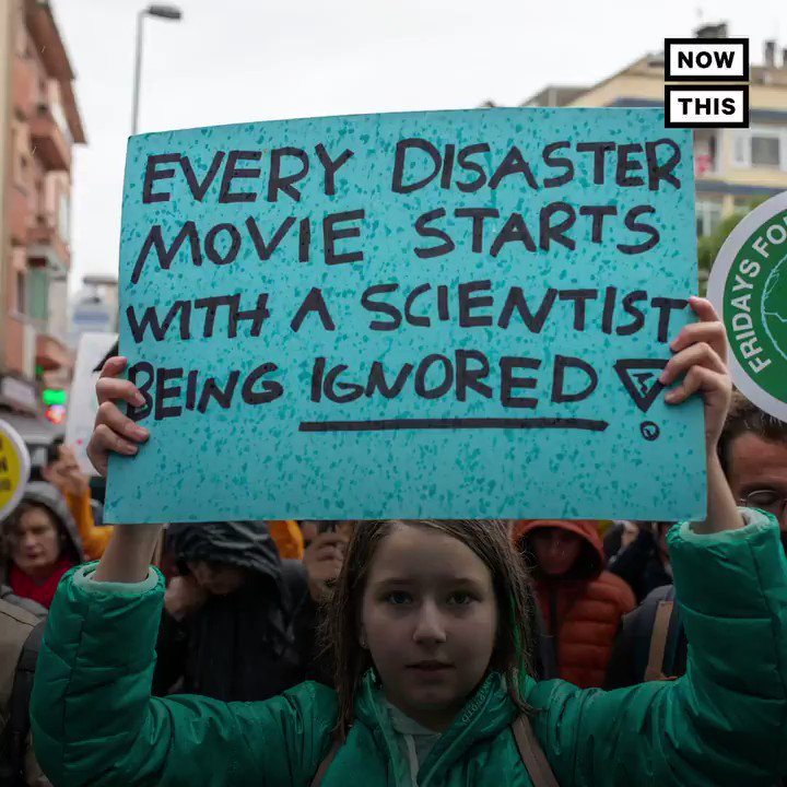 These were the best signs from across the world at Fridays Global #ClimateStrike.