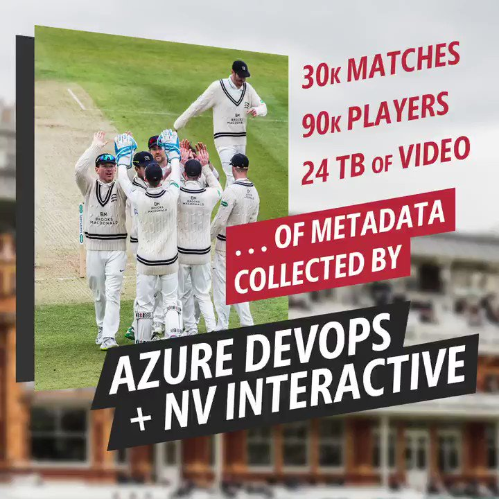 From grassroots games to elite matches, NV Play is transforming cricket with real-time scoring. 🏏Step up to bat: http://msft.social/QARl2E