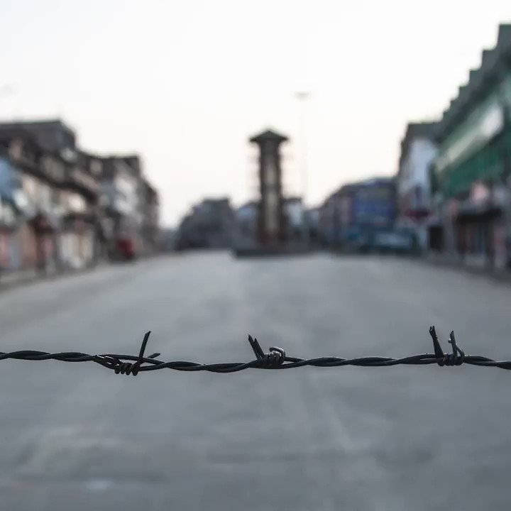 The Kashmir blackout is over 40 days old. 8 million people are under lockdown. In the world's most militarised zone.