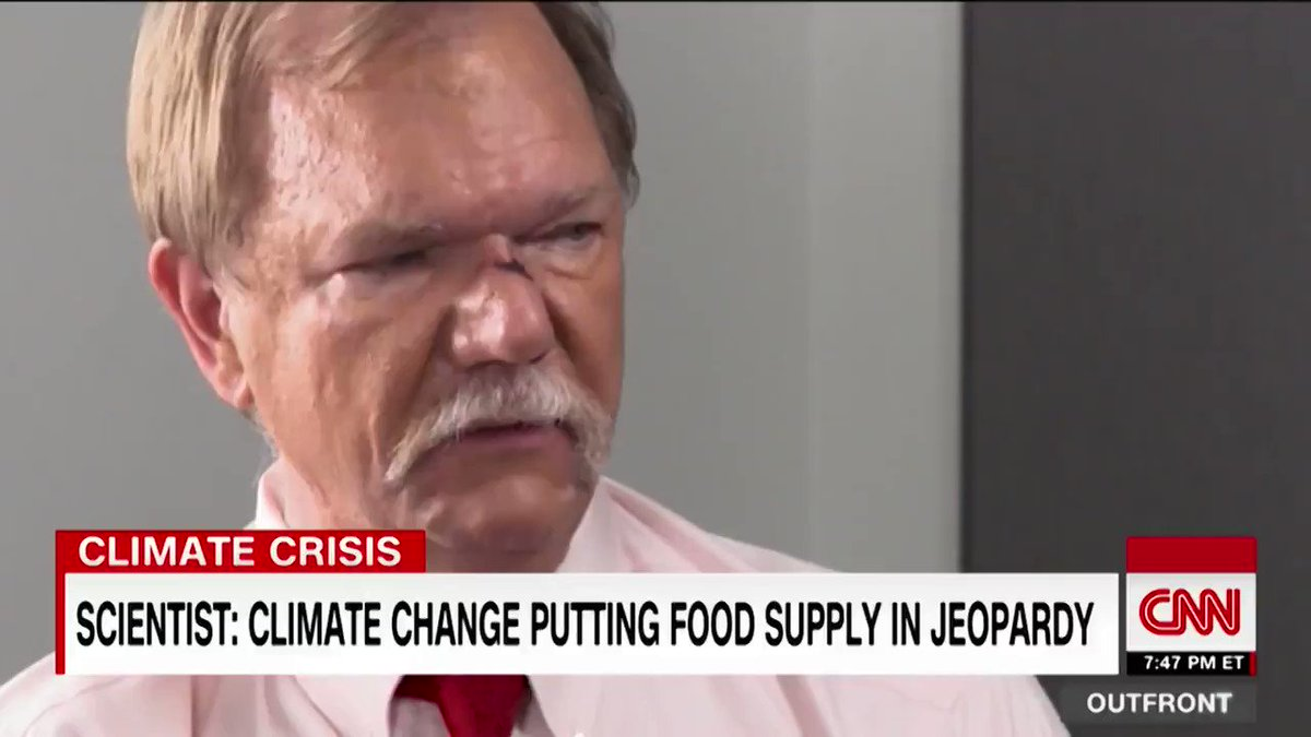 The carbon dioxide in the air is now changing the food coming out of the ground, scientists say. CNNs @DrSanjayGupta  reports on how rising CO2 levels could have a negative impact on our food supply.  https://cnn.it/2Ql094z