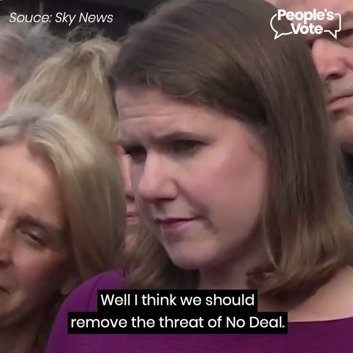 WATCH: Leader of the Lib Dems @joswinson arguing that any Brexit deal should go back to the public, so that they can have the final say on #Brexit. Thats what we think would be the best way forward. If you agree march with us on October 19th 👉 letusbeheard.uk