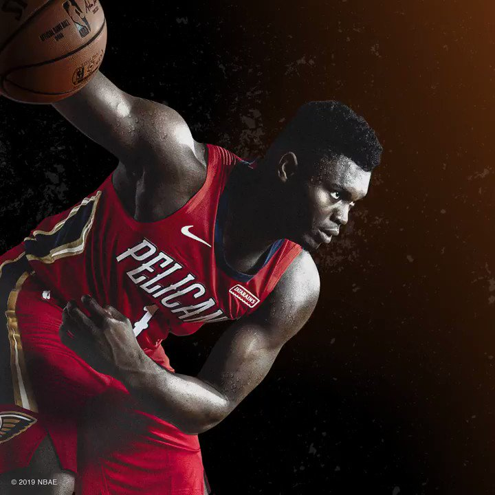 Replying to @Gatorade: Welcome to Team Gatorade, @Zionwilliamson. Now let's get to work.
