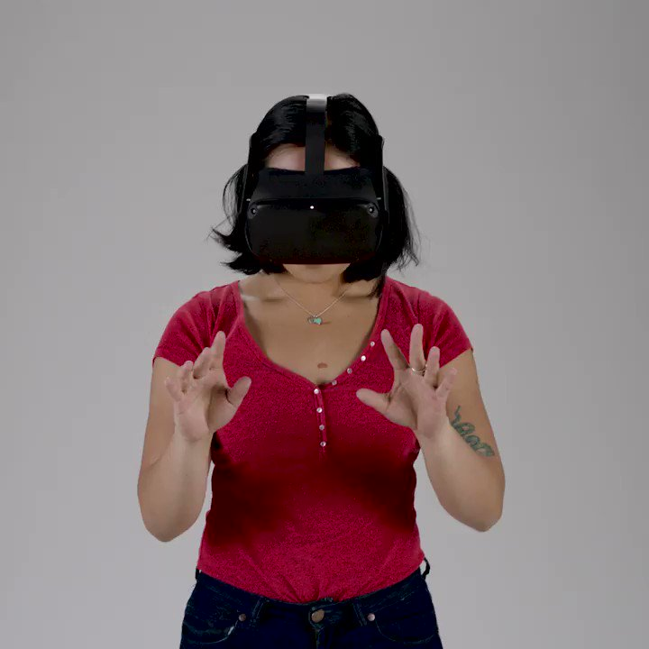 Image for the Tweet beginning: 🙌  @Oculus Quest introduces