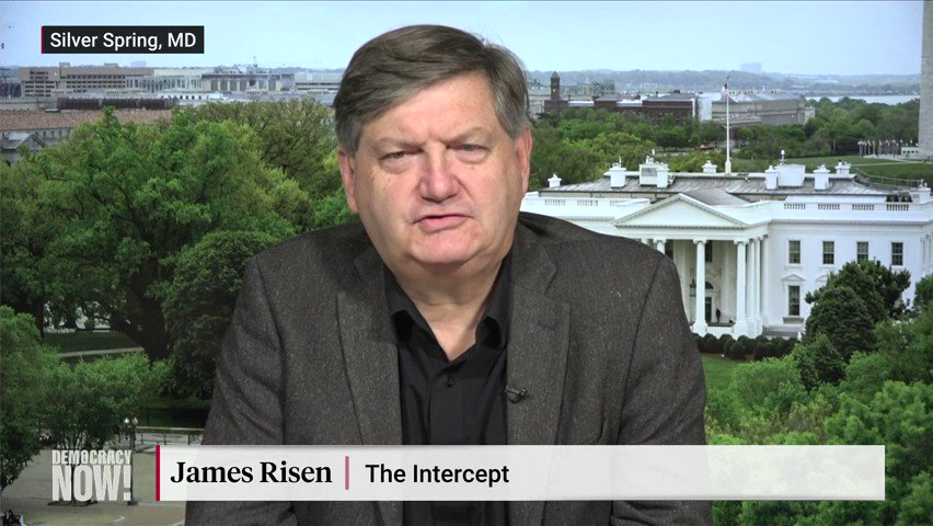 "whistleblower complaint about Trump's call with Ukrainian President Volodymyr Zelensky shows that ""Trump is a habitual criminal,"" says James Risen of @theintercept. ""How many other countries has he done the same thing with that we don't know about yet?"""