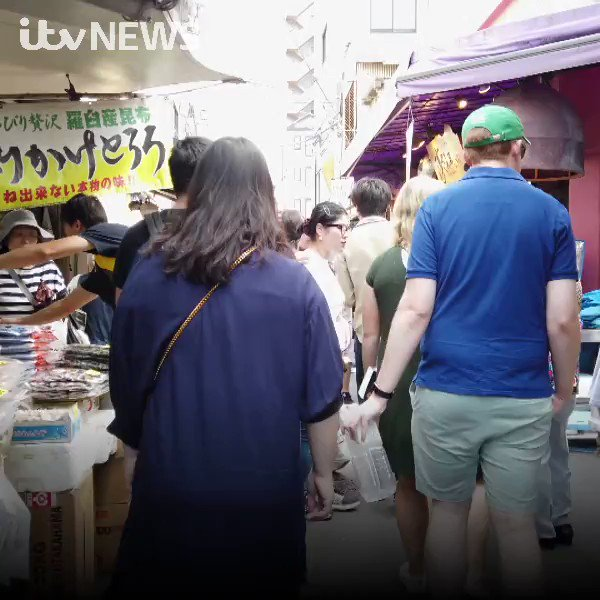 As Wales prepare to face Australia at the Rugby World Cup in Tokyo, our reporter @SianThomas_ has been out seeing the sights and sounds of the city #RWC2019 bit.ly/2nS6YNd