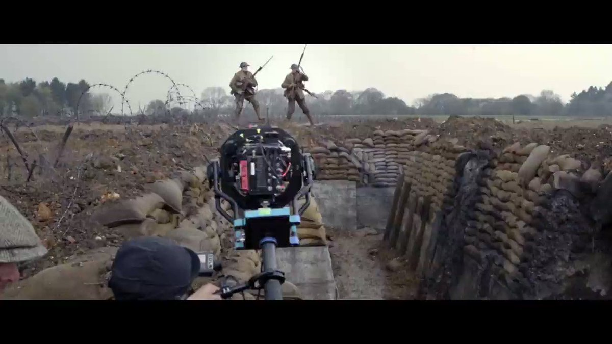 Explore the technical innovation of recreating WWI for the Sam Mendes film 1917.