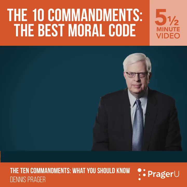 Image for the Tweet beginning: The 10 Commandments is the