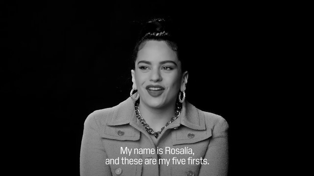 .@rosaliavt gets personal as she shares everything, including the details of how her first kiss went down, the very first Karaoke she sang, plus more. Watch the full video, here: wmag.cm/Kg41RiT