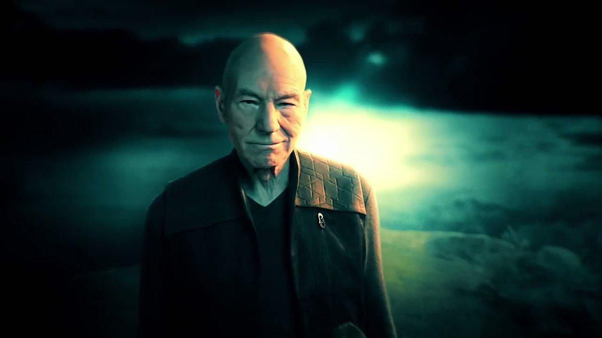 Image for the Tweet beginning: Picard. January 23, 2020.  @StarTrekCBS